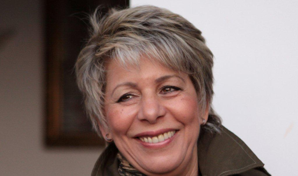 Mrs Latifa Bennari, president and founder of the Blue Angel